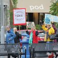 BY JOY STRUTHERS Around 300 citizens protested in front of Guelph City Hall Sept. 26 before the council meeting regarding the Nestle water deal in Aberfoyle. Coun. James Gordon was...