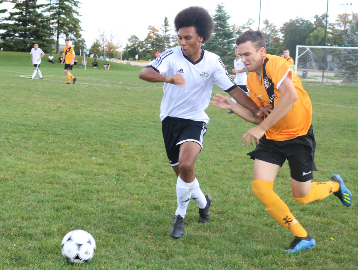 """By Saifullah Muhammad, Spoke News Conestoga College's soccer Condors are still hopeful to come back despite losing their two previous home games of the season in the Ontario college men's soccer league last week. """"I am still happy and confident to shine despite suffering back-to-back defeats. This was really unfortunate for the last two games,"""" said Reza Ullah after the match against the Cambrian soccer team on Saturday at Condor Field. He also mentioned that..."""