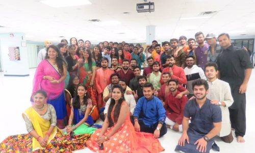 Students hold Conestoga's first Navratri celebration