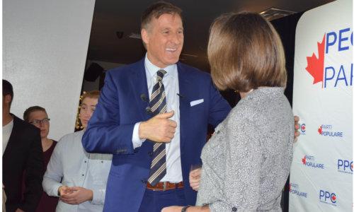 Political maverick Bernier draws a big crowd in Toronto